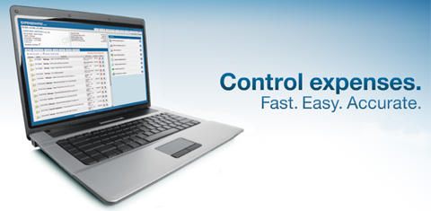 Control expenses. Fast. Easy. Accurate.
